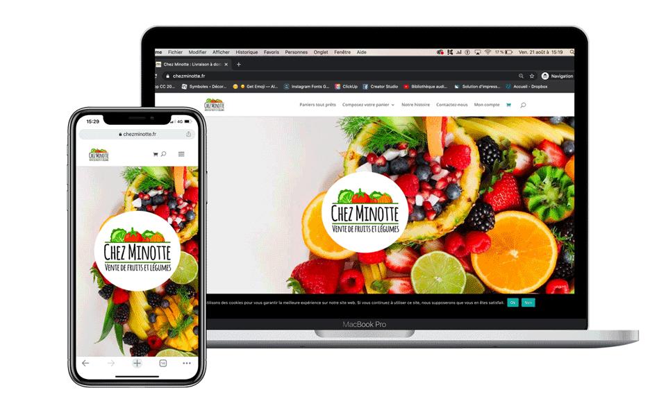 créer un site internet à Agen