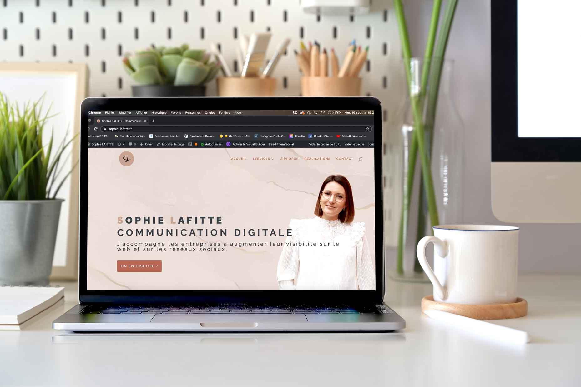 création de site internet à Agen